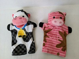 Melissa and Doug Pig and Cow Hand Puppets - $20.00