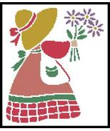 Sun Bonnet Sue 1 cross stitch chart Artecy Cross Stitch Chart - $7.20