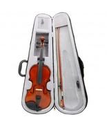Advanced Beginner Solidwood Violin 4/4 Size Beautiful Inlaid Purfling & ... - $49.99