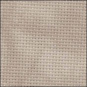 Primary image for Nut 16ct Aida Hand Over Dyed 35x19 cross stitch fabric Fabric Fl