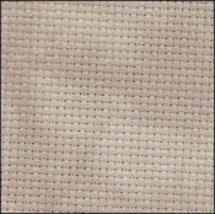 Nut 16ct Aida Hand Over Dyed 35x19 cross stitch fabric Fabric Fl - $29.70
