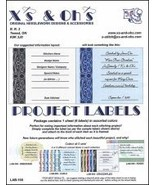 Project Labels: Lab-100 Elegant cross stitch accessory X's and Oh's - $5.00
