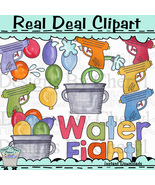 Water fight clip art thumbtall