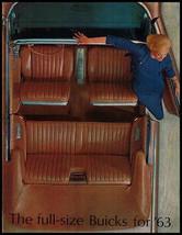 1963 Buick Orig Brochure Electra Wildcat Invicta LeSabr - $11.84
