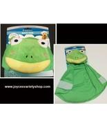 Dog Hoodie Bath Towel Ultra Soft Small/Medium Size Frog Green - $8.99