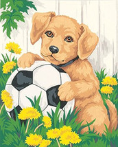 Puppy & Soccer Ball Cross Stitch Pattern***LOOK*** - $4.95