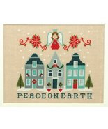 Peace On Earth christmas cross stitch chart Tiny Modernist Inc - $8.10