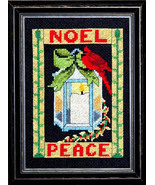 Noel christmas cross stitch chart Bobbie G Designs - $7.20
