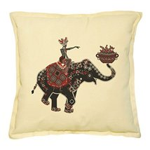 Vietsbay's Africa Woman Riding Elephant Printed Decorative Pillows Case ... - $14.39