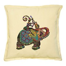 Vietsbay Africa Woman Riding Elephant-2 Printed Decorative Pillows Case ... - $14.39