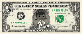 Disney Jr's DOC MCSTUFFINS on REAL Dollar Bill Cash Money Bank Note Curr... - $4.44