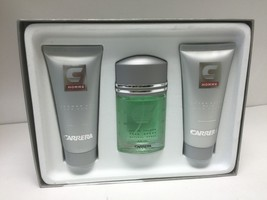 Carrera Men's 3 Piece Gift Set 1.7 EDT Spray+3.4 After Shave+3.4 Shower ... - $28.04
