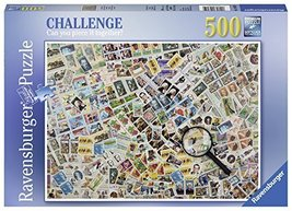 Ravensburger 14805 Stamps Challenge Series Jigsaw Puzzle (500 Piece) - $13.68
