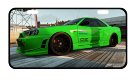 Skyline Forza2  Custom Collectible Metal Licens... - $17.99