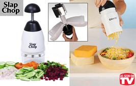 'Slap Chop' all purpose Food Chopper plus 'Graty' Cheese Grater - $22.00