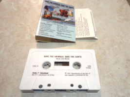 CASSETTE Lois Skiera-Zucek 'Save the Animals Save the Earth' endangered ... - $4.79