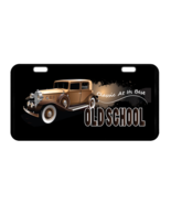 Old School  Custom Collectible Metal License Plate - $17.99