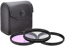 58mm 3PC Filter Kit (UV FLD CPL) For Canon PowerShot G16 G15 Digital Camera - $21.99