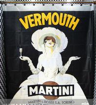 VERMOUTH MARTINI Poster Design 180 x 200 cm PEVA Bathroom SHOWER CURTAIN... - $23.99