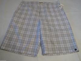 Quiksilver Regency 2 22 Men's shorts walking casual 30 NEW WBB1 AQYWS00022 plaid - $28.79