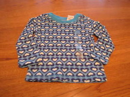 NEW blue long sleeve baby The Children's Place girls 6-9 month L/S shirt... - $6.17