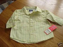 Carter's boys 6M 6 months dress shirt NWT 20.00 NEW - $21.82