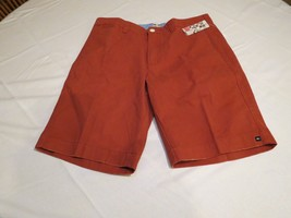 Quiksilver Transcendent 19 rust red shorts walking casual 30 Mens NEW AQYWS00052 - $28.19
