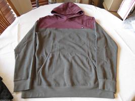 Quiksilver long sleeve shirt hood hoodie S small RSS0 Upper Hand Men's N... - $26.99