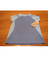 Girls Champion active shirt blue Duo dry NWT NEW S SM - $5.93