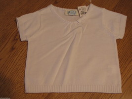 The Children's Place girls 18M 18 months T shirt White Sweater 08528415 ... - $5.93