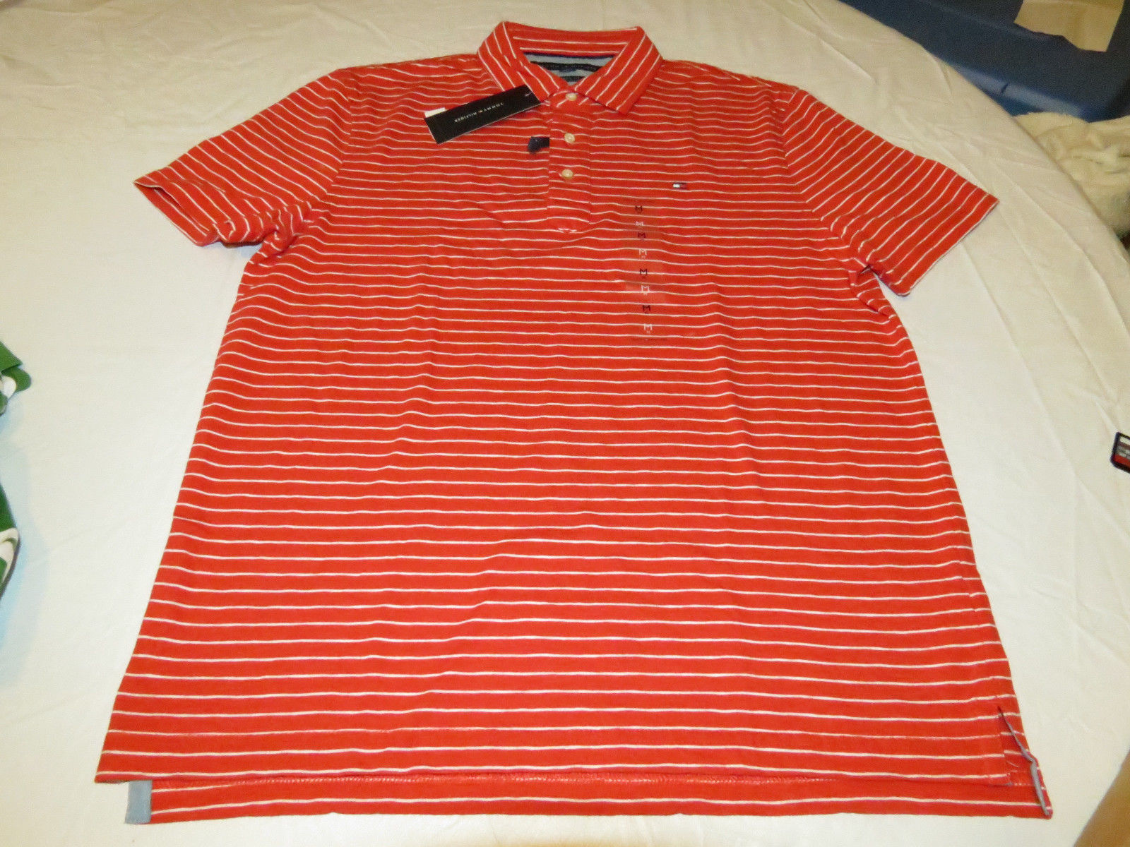 fa8a0affffc8 Men s Tommy Hilfiger Polo shirt striped and 50 similar items. S l1600