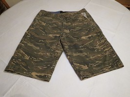 Men's Quiksilver shorts 28 camo camouflage surf skate green NEW walk cas... - $39.59