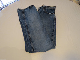 Womens Old Navy Brand Boot Cut 6S 6 short  Denim stretch blue jeans pre-owned# - $11.99