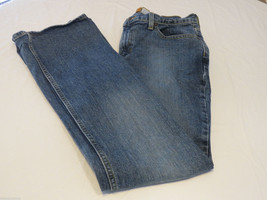 Womens Old Navy Brand Boot Cut stretch 6 short 6S Denim blue jeans pre-owned# - $11.99
