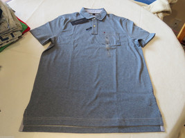 Men's Tommy Hilfiger Pocket Polo shirt  logo 7871395 Chambray Blue S Cla... - $37.49