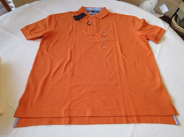 Mens Tommy Hilfiger Polo shirt XL Classic solid NEW 7864547 Harvest Pump... - $29.39
