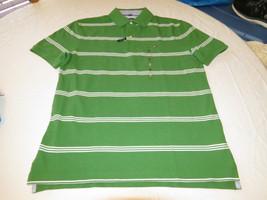 Men's Tommy Hilfiger Polo shirt  logo 7871410 Juniper 998 green S Classic Fit - $32.39