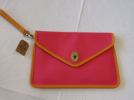 化石SL4262675 Austin Tech Clutch Flamingo Pink wristlet Tablet purse... - $34.36