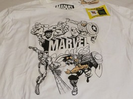 marvel comics UV ink with color glow in dark white Boy's kids youth larg... - $9.59