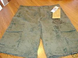 Marc Ecko boys shorts 16 NWT 38.00 burnt olive NEW - $11.39