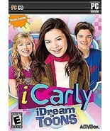 iCarly iDream in Toons PC Games Everyone NEW Nickelodeo - $6.59