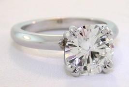 3 Ct Round Forever Brilliant® Moissanite Octet Engagement Ring 14K White Gold - $1,777.05