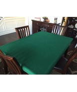 Felt poker table covers Texas Hold Em' Tablecloth bonnet - Large rectang... - $125.00