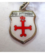 Vintage REU 800 Silver & enamel Bad Pyrmont, Ge... - $10.29