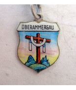 KFK Vintage 800 Silver & enamel Oberammergau, G... - $8.90