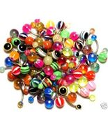 15 Different Navel Belly Rings WHOLESALE LOT - $9.99