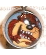 TAZ Tasmanian Devil Logo Navel Belly Ring, 14g - $4.99
