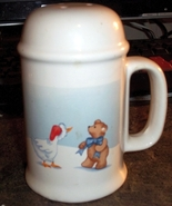 House of Lloyd 1989 Range-top Pepper Shaker Goose Teddy Bear Christmas T... - $3.99