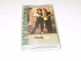 Family Style by Vaughan Brothers cassette tape hard to be white boots Go... - $11.99