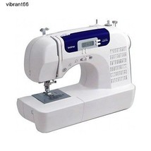 Quilt Stitch Computerized Sewing Machine Heavy Duty Wide Table Hard Cove... - $191.57